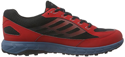 Ecco Terratrail, Chaussures Multisport Outdoor Homme Multicolore (tomato/black59490)