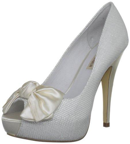 Menbur Wedding  Clarisa,  Damen Brautschuhe , Weiß - Ivory - Größe: 36.5 (3.5 UK)