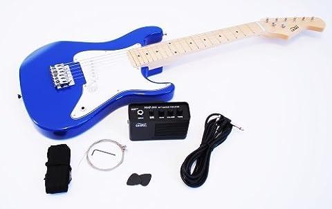 1/2 Kinder E-Gitarre Set mit Verstärker und Zubehör