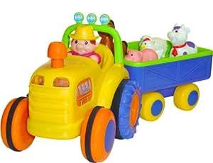 Tracteur Et Sa Remorque 1er Age [Jouet]