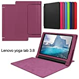asng Lenovo Yoga Tab 38Case-Slim Faltbarer Ständer Cover Smart Case für 2015Lenovo Yoga Tab38Zoll Tablet Violett
