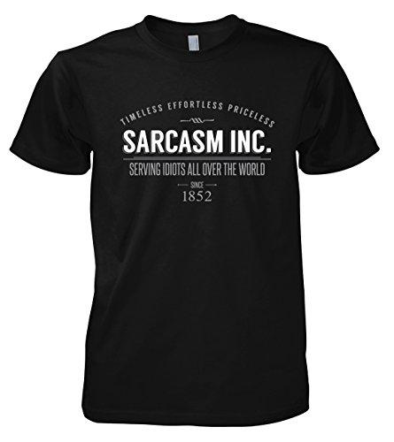 Sarcasm schianterai Inc, 701765 T-shirt da uomo