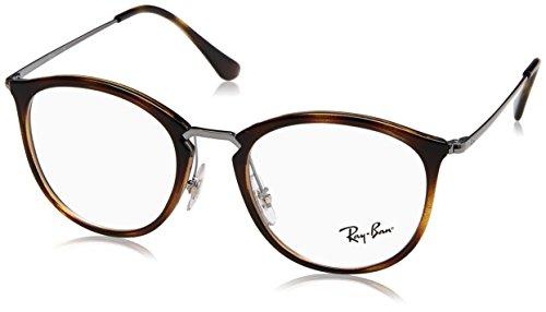 Ray-Ban Unisex-Erwachsene 0RX 7140 2012 51 Brillengestelle, Braun (Havana),