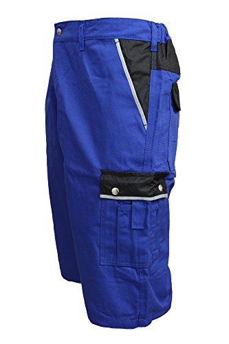 TMG Short Kurze Hose Shorts Arbeitshose Bundhose blau Gr. 52