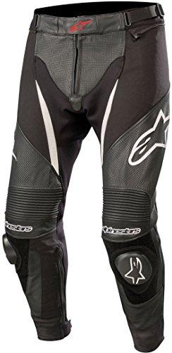 Alpinestars Motorradhose Sp X Airflow Pants Black White, Schwarz/Weiss, 58
