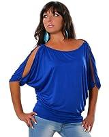 Damen Casual Tunika Longshirt Bluse (weitere Farben) No 12643