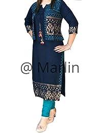 Marlin Jacket Kurti For Women Stylish Latest Design Jacket Kurti Jacket Kurti For Girls Kurti With Jacket Two...