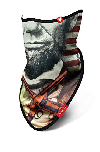 wolface Mr. Präsident Ski Maske Snowboard Hals Gesicht Schutz-Bandana (Präsident Masken)