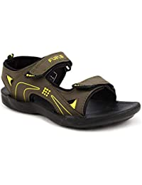 FUEL Men's Olive Sandals and Floaters