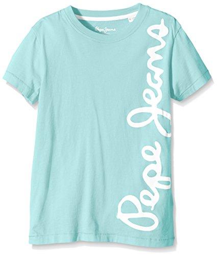 Pepe Jeans WALDO SHORT-T-shirt Bambino, Blu (Spa), 12 anni