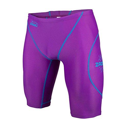 ZAOSU Wettkampf-Schwimmhose Z-Purple - Jammer für Herren und Jungen, Größe:176/3