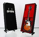 Jimmy Page (Led Zeppelin): 1959 Les Paul Standard - Nachbildung für Miniatur-Gitarre (Verkäufer aus Großbritannien)