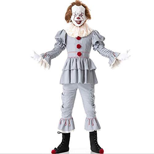 Halloween Kostüm, Männer und Frauen Film Rollenspiel Film Demon Clown Back Soul Kostüm,XL (Gruselige Halloween Deko-tipps)