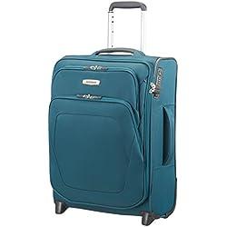 SAMSONITE Spark SNG - Upright 55/20 Expendable Length 40cm Equipaje de mano, 55 cm, 48,5 liters, Azul (Petrol Blue)