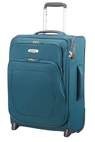 SAMSONITE Spark SNG - Upright 55/20 Expendable Length 40cm Equipaje de mano, 55 cm, 48,5 liters, Azul (Petrol Blue)