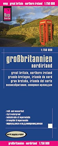 Reise Know-How Landkarte Großbritannien (1:750.000): world mapping project (Königreich Sports World)