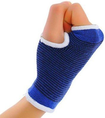 Digital-Dukan-Unisex-Bra-Palm-wrist-glove-Blue