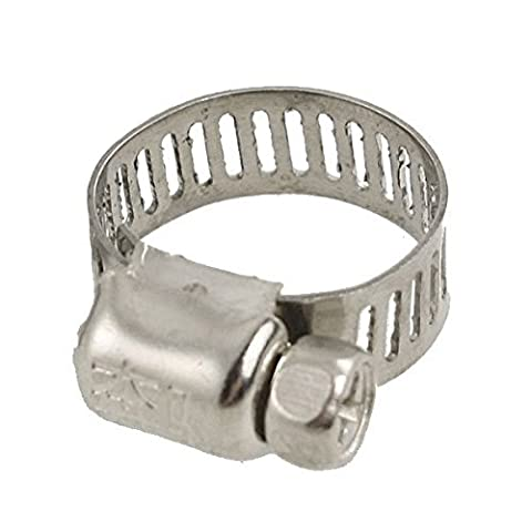 Schlauchschelle - TOOGOO(R) Fuel Injection Gas Wasser Rohr Schlauchschelle 15¨C25
