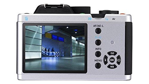 Pentax K-01 + SMC -DA 18-55mm + SMC -DA 50-200mm MILC 16.28MP CMOS 4912 X 3264Pixel Nero, Argento