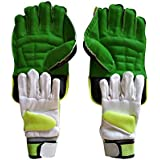 JetFire Youth Wicket Keeping Gloves and Inner Gloves Combo Age Group (8-15 Year) (Youth, Green)