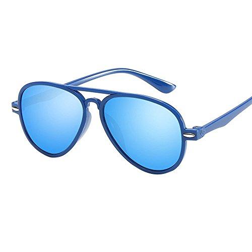 Battnot☀ Sonnenbrillen für Kinder, Polarisiert Fashion Farbfilm Unisex Vintage Mode Anti-UV Gläser Shades Schutzbrillen Baby Mädchen Retro Billig Sunglasses Coole Travel Eyewear Eyeglasses