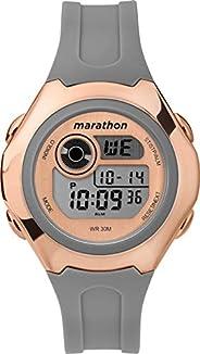 Timex Womens Quartz Watch, Digital Display and Resin Strap - TW5M33100
