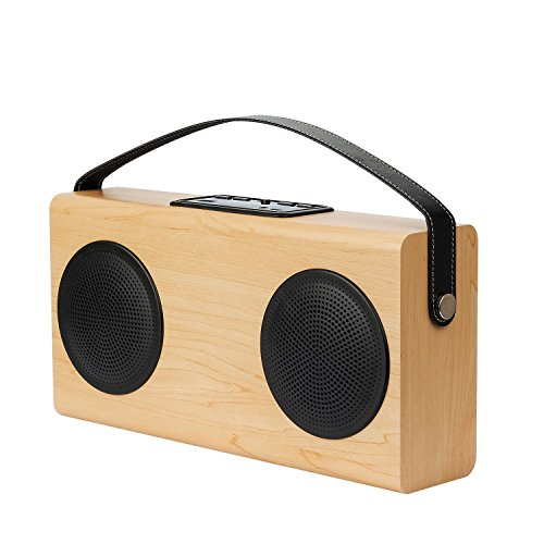 portable-bluetooth-speaker-with-subwoofer-wood-grain-wireless-speakers-home-stereo-system-with-power