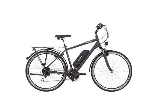 Fischer Herren - E-Bike Trekking ETH 1801 (2018), anthrazit matt, 28\'\', RH 50 cm, Hinterradmotor, 48V Akku