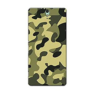 CAMOUFLAGE BACK COVER FOR SONY C5