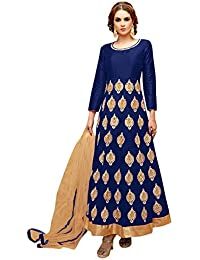 d196c5484e Amazon.in: Silk - Salwar Suits / Ethnic Wear: Clothing & Accessories
