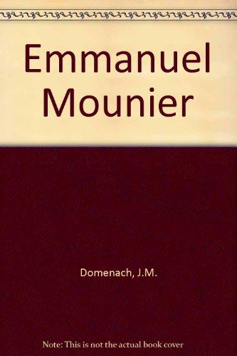 Emmanuel mounier in-8° br. par Domenach Jean-Marie