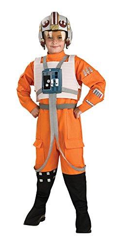 Star Wars Kostüm X-Wing Pilot für Kinder - (Star Wing X Wars Pilot Kostüme)