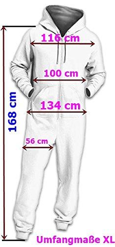 Crazy Age Jumpsuit Renntier Motiv Elefanten Design Overall Indianstyle Schwarz (601)