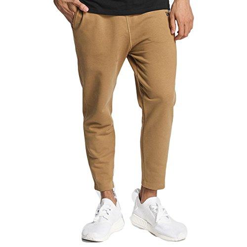 New Era - New Era Originators Track Pantalone Uomo Nero cachi