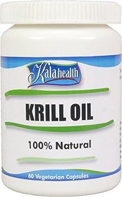Kala Health - Superba® Krill Oil 60 vegetarian Licaps® Capsules Omega-3, Omega-7 and Omega-9 Fatty Acids.