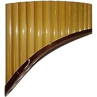 Q 'awary 15tubos de bambú pan flauta–Fine Art de Perú–incluye funda