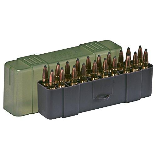 Plano Patronenbox für Büchsenpatronen, mit Stülpdeckel, Mittel, 20 Patronen (Ammo Handgun Box)