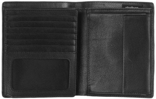 Strellson Carter BillFold V15 4010001187 Herren Geldbörsen 12x10x1 cm (B x H x T), Schwarz (black 900) Schwarz (black 900)