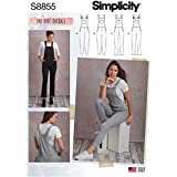 Simplicity Sewing Pattern 8855 Dungarees H5 (6-8-10-12-14)