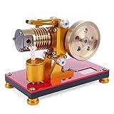 YAHAMA Heißluftmotor Stirlingmotor Saugfeuer Art Stirling Engine Motor Dampfmaschinen Bausätze Dampfmaschinen Modelle