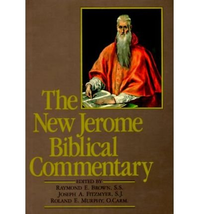 THE NEW JEROME BIBLICAL COMMENTARY BY (Author)Brown, Raymond Edward[Hardcover]Sep-1989