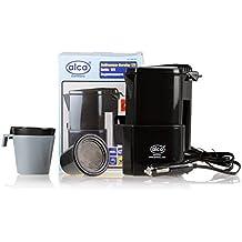 Alca KFZ Hervidor de agua, calentador de agua, hervidor para te, hervidor para café, 12V + 2 tazas con filtro de café, filtro de té en un 542120 que se puede utilizar para: coche, todoterrenos, furgonetas, Bulli, camión, tráiler, bus, camping, caravana. etc.