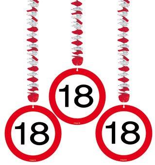 Verkehrsschild 18. Geburtstag (Mädchen Geburtstag-ideen)