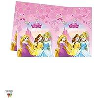 Procos 85004 – Disney Princess Dreaming Plastic Tablecloth (120 x 180 cm), Pink