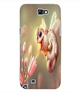 ColourCraft Amazing Creature Design Back Case Cover for SAMSUNG GALAXY NOTE 2 N7100