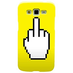 Wildpunch WP-SGR3(31) Funny Fuck Designer Phone Back Cover Case For Samsung Grand 3 (Yellow)