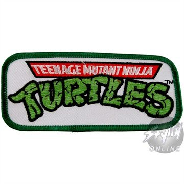TMNT Logo Aufnäher 7cm Teenage Mutant Ninja Turtles Embroidered Patch