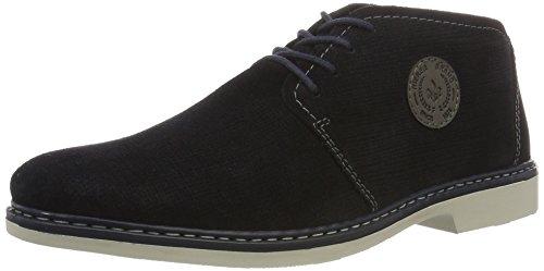 Rieker Herren 13030 Desert Boots Blau (Pazifik/Polvere / 16)