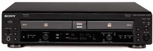 Sony RCD-W100/B Player and CD Re...