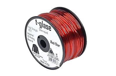 Aleph Objects Inc.Taulman Filament, T-glase, 3 mm, 1 lb. Reel, Black